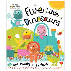 Five Little Dinosaurs Book