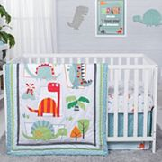Trend Lab Dinosaur Roar 3 pc Crib Bedding Set