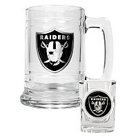 Oakland Raiders 2 pc Mug Set