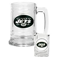 New York Jets 2-pc. Mug Set