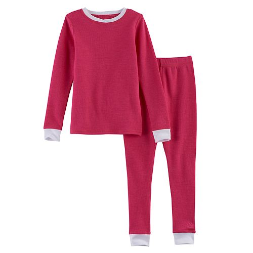 Toddler Girl Cuddl Duds 2-pc. Base Layer Top & Pants Set