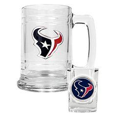 Houston Texans 2 pc Mug & Shot Glass Set