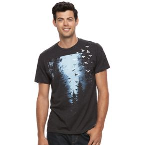 Men's Apt. 9® Blue Forest Tee