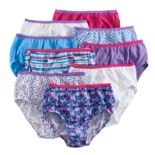 Girls 4-16 Hanes 9 pkCotton Brief Panties