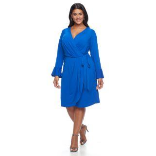 Plus Size Suite 7 Wrap Dress