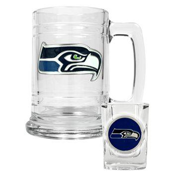 Seattle Seahawks 2-pc. Mug Set
