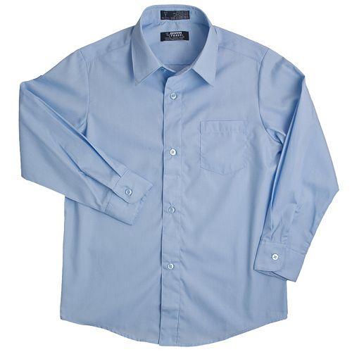 Boys 4-20 French Toast Solid School Uniform Dress Shirt