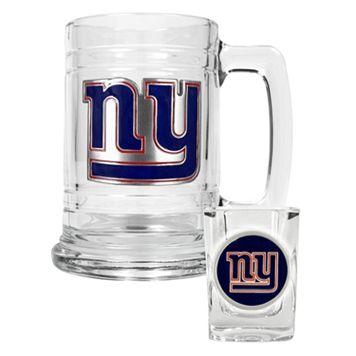 New York Giants 2-pc. Mug & Shot Glass Set