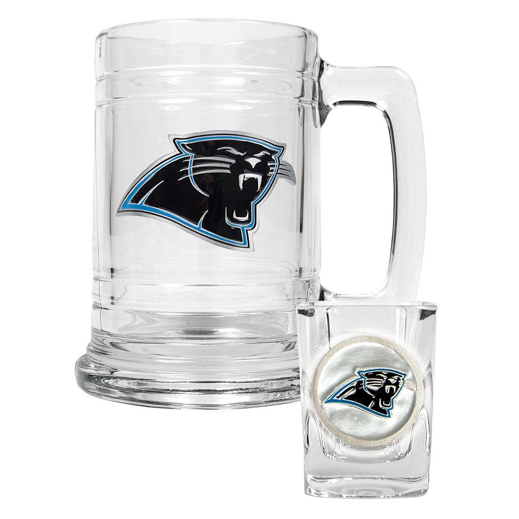 Carolina Panthers 2-pc. Mug Set