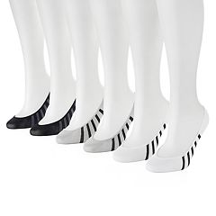 Women's PUMA 6 pkStriped Sport Liner Socks