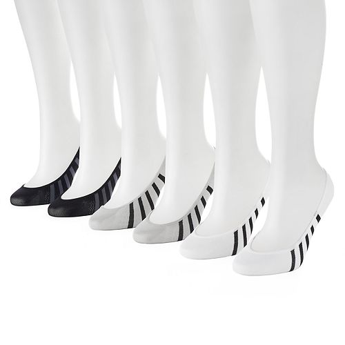 Women's PUMA 6-pk. Striped Sport Liner Socks