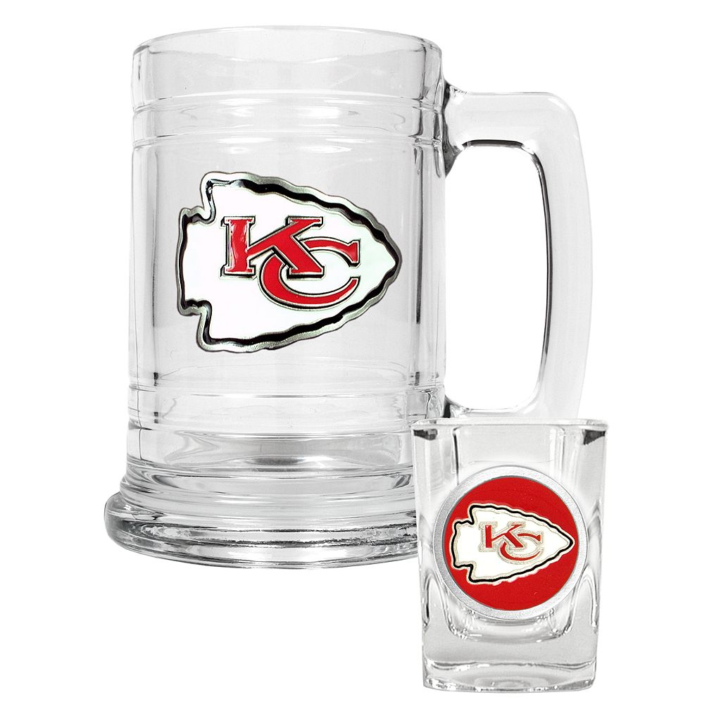Kansas City Chiefs 2-pc. Mug Set