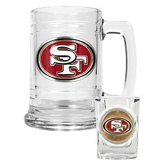 San Francisco 49ers 2-pc. Mug & Shot Glass Set