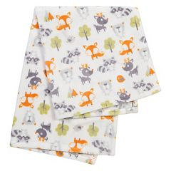 Trend Lab Printed Plush Baby Blanket