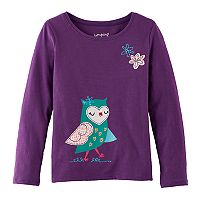 Girls 4-10 Jumping Beans® Animal Tee