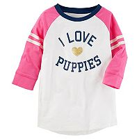 Girls 4-12 OshKosh B'gosh® Animal Raglan Tee