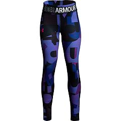 Girls 7-16 Under Armour HeatGear Printed Leggings
