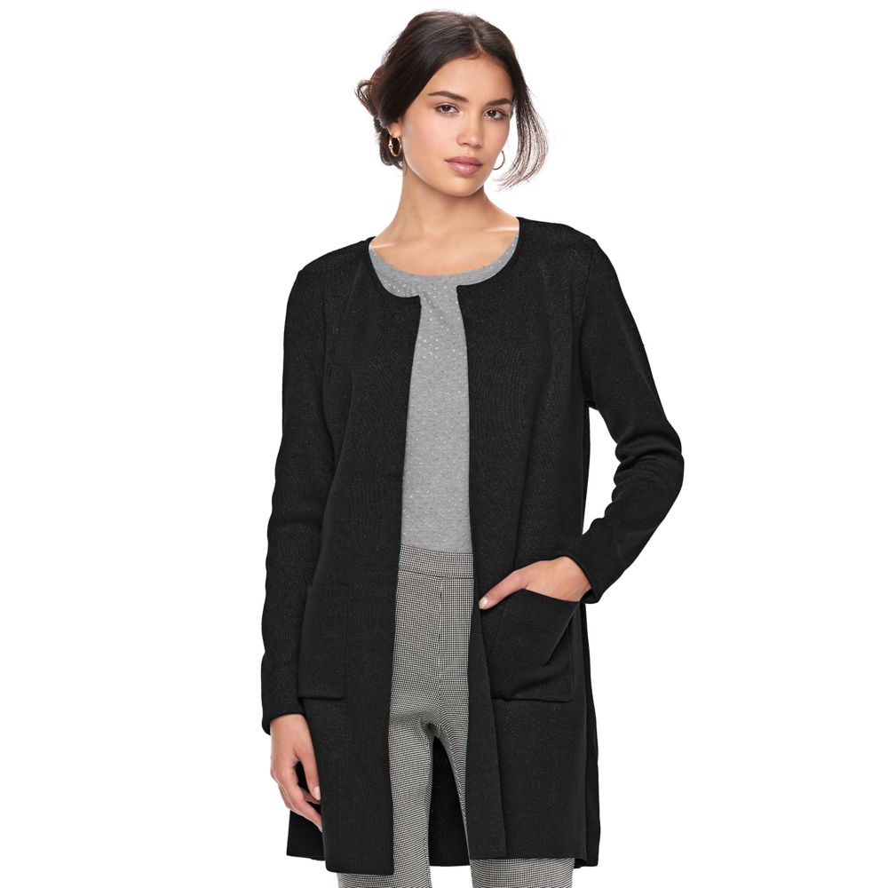 ELLE™ Long Cardigan Jacket