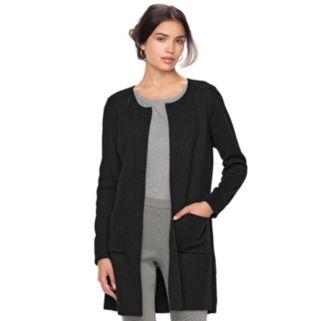 Women's ELLE™ Long Cardigan Jacket