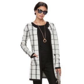 Women's ELLE? Long Cardigan Jacket