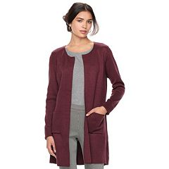 Women's ELLE™ Long Cardigan Jacket