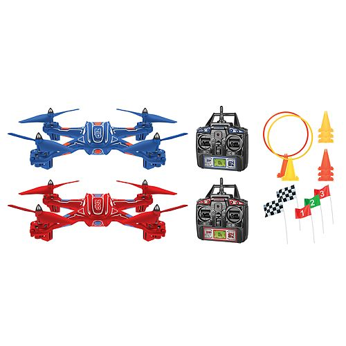 World Tech Toys Zip & Zap Racing Drone 4.5ch RC Quadcopter