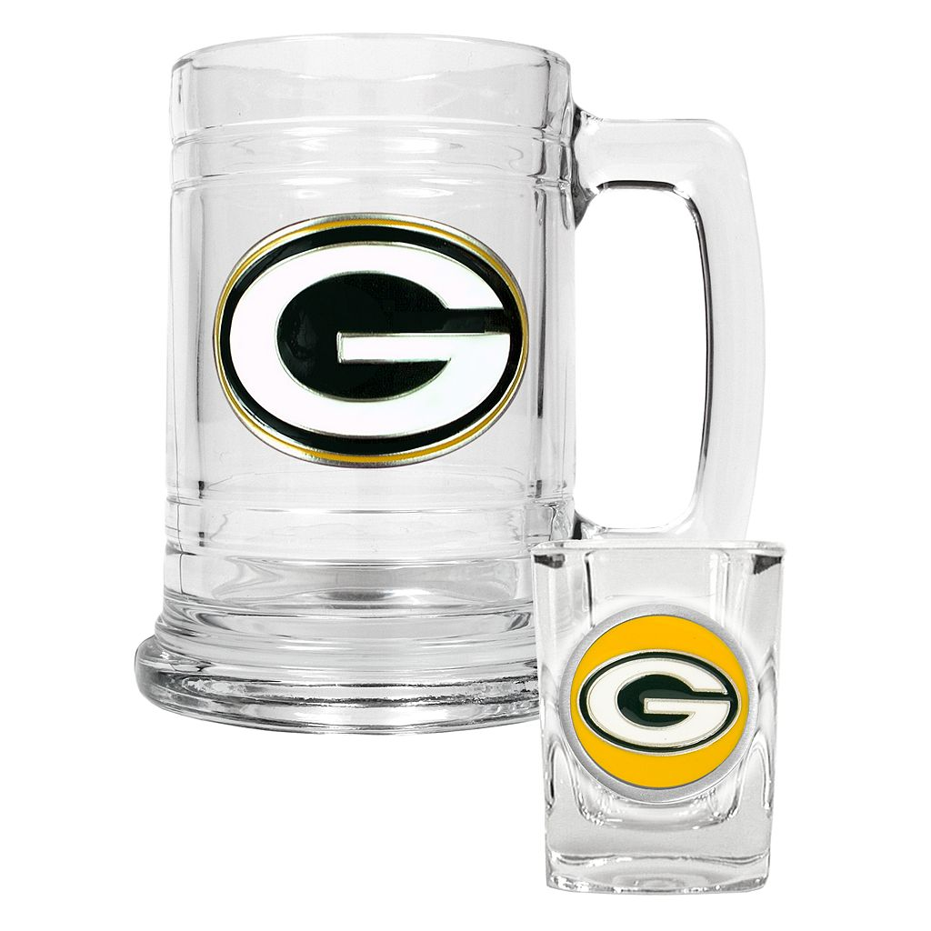 Green Bay Packers 2-pc. Mug Set