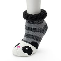 Women's SO® Cozy Warmer Critter Slipper Socks