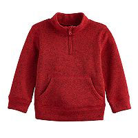 Toddler Boy Jumping Beans® 1/2-Zip Mock Neck Pullover Sweater