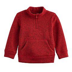 Toddler Boy Jumping Beans® 1/2-Zip Mock Neck Pullover Sweater