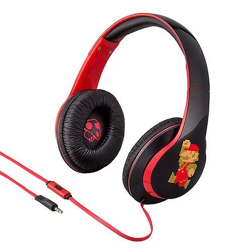 Super Mario Bros. Mario & Bowser Headphones by iHome