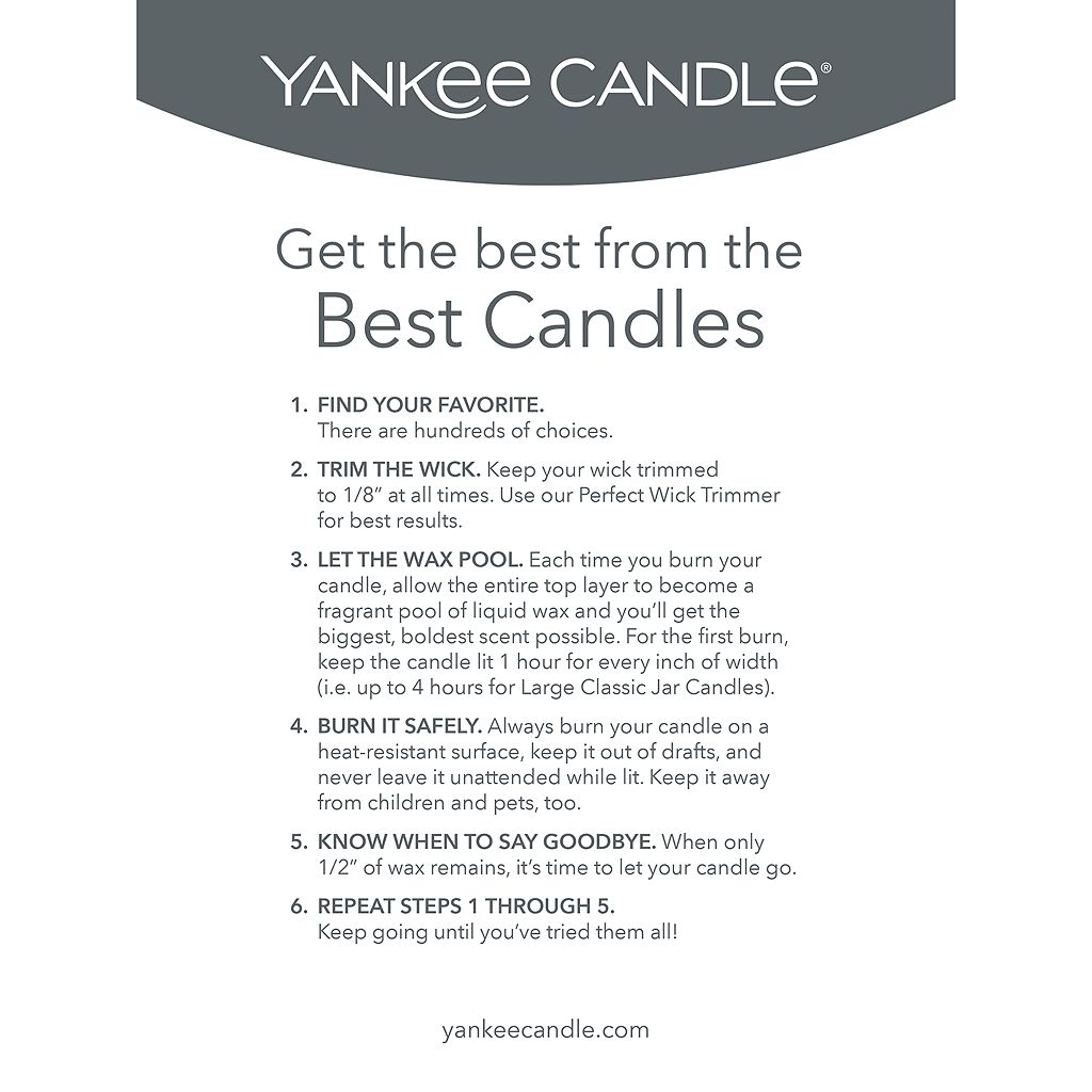 Yankee Candle Home Sweet Home Tall 22-oz. Candle Jar