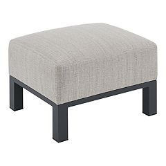 Madison Park Lenox Patio Ottoman