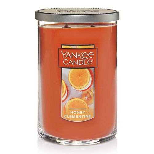 Yankee Candle Honey Clementine Tall 22-oz. Large Candle Jar