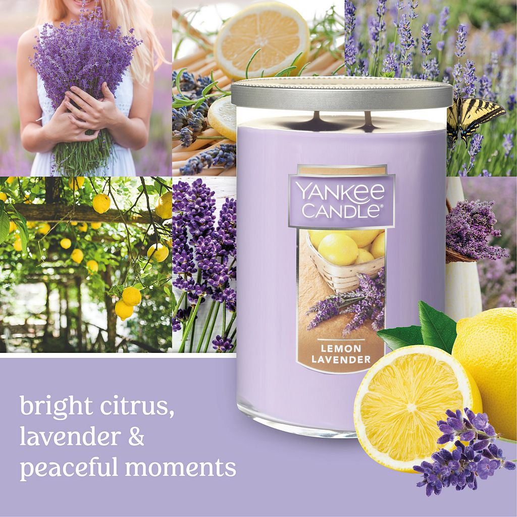 Yankee Candle Lemon Lavender Tall 22-oz. Candle Jar