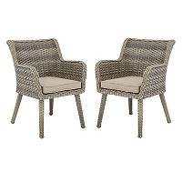 Madison Park Dana Patio Arm Chair 2 pc Set