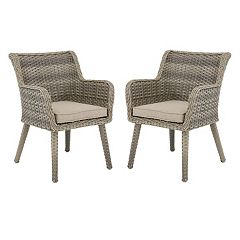 Madison Park Dana Patio Arm Chair 2-piece Set