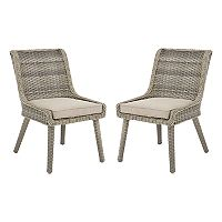 Madison Park Dana Patio Accent Chair 2 pc Set