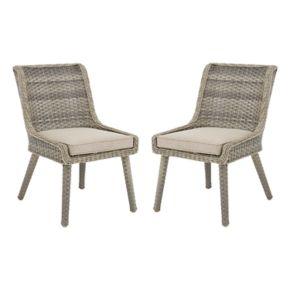 Madison Park Dana Patio Accent Chair 2-piece Set