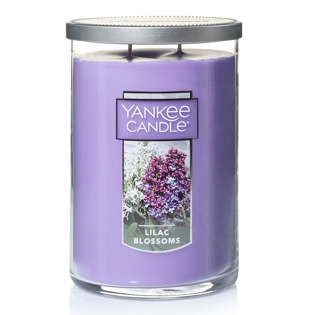 Yankee Candle Lilac Blossoms Tall 22-oz. Candle Jar
