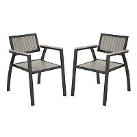 Madison Park Lester Patio Arm Chair 2-piece Set