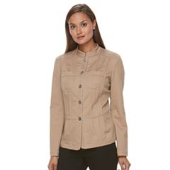 Women's Croft & Barrow® Utility Jacket