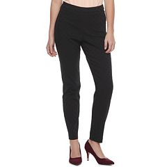 Women's ELLE™ Dot Pull-On Skinny Dress Pants