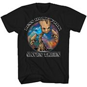 Boys 8-20 Marvel Guardians of the Galaxy Groot Tee