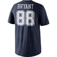 Boys 8-20 Nike Dallas Cowboys Dez Bryant Name and Number Tee