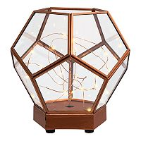 Laura Ashley Lifestyles Lantern Terrarium Table Decor