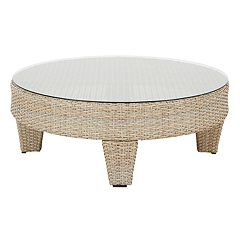 Madison Park Bayard Round Patio Coffee Table