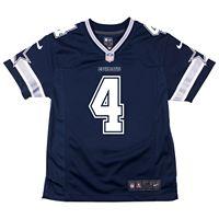 Boys 4-7 Dallas Cowboys Dak Prescott Replica Jersey
