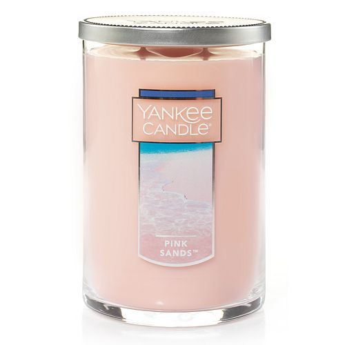 Yankee Candle Pink Sands Tall 22-oz. Large Candle Jar