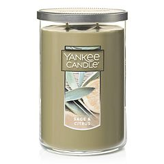 Yankee Candle Sage & Citrus Tall 22-oz. Large Candle Jar